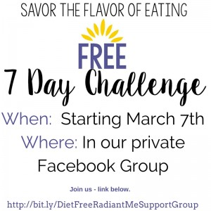 Challenge - Savor Flavor-When-Where