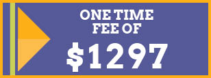 One time fee of $1297