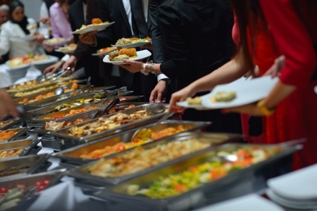 How to get pleasure in your meals diet free radiant me for Comedor industrial buffet